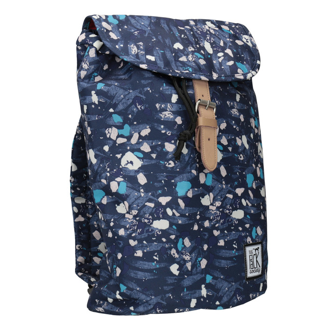 Colourful Backpack, blue , 969-9080 - 13