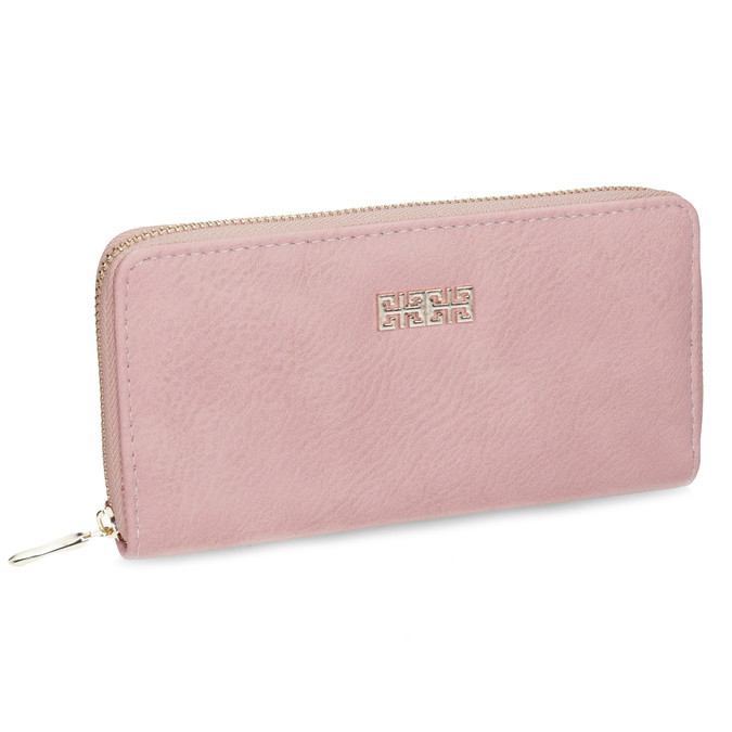 Pink ladies' wallet bata, pink , multicolor, 941-0180 - 13