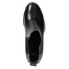 Ladies' Leather Ankle Boots bata, black , 694-6641 - 26