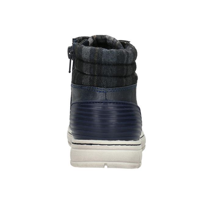 Children's ankle boots na zip mini-b, blue , 311-9611 - 17