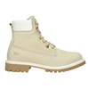 Ladies' Leather Ankle Boots weinbrenner, beige , 596-1667 - 26