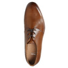 Leather dress shoes bata, brown , 826-3680 - 26