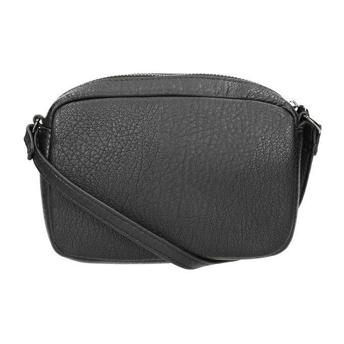 Ladies' studded crossbody handbag bata, black , 961-6790 - 26