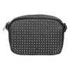Ladies' studded crossbody handbag bata, black , 961-6790 - 17