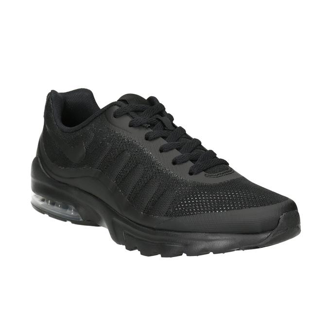 Men's Black Sneakers nike, black , 809-6184 - 13