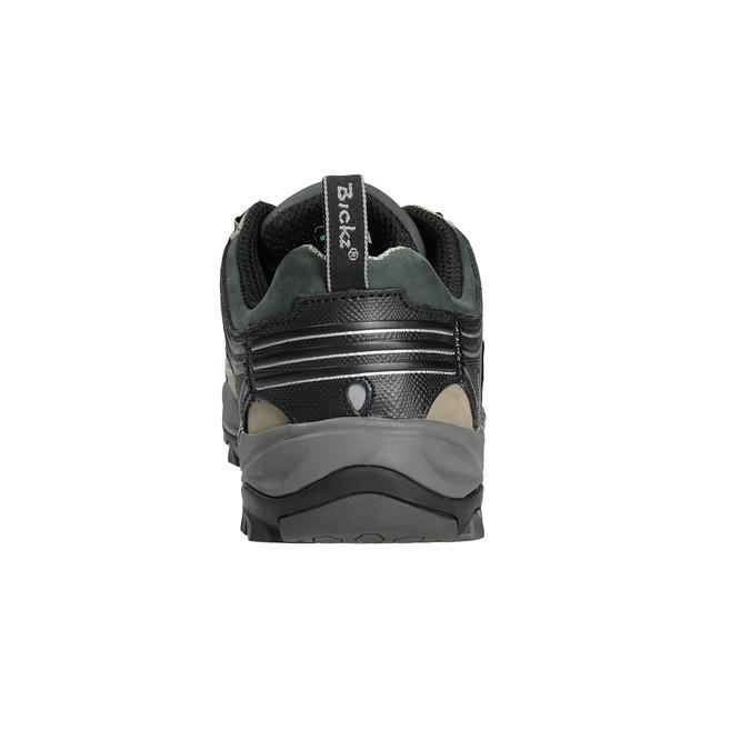 Men's Bickz 201 work shoes bata-industrials, beige , 846-6801 - 16