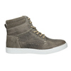 Children's Leather Ankle Boots, gray , 494-8023 - 26