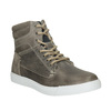 Children's Leather Ankle Boots, gray , 494-8023 - 13