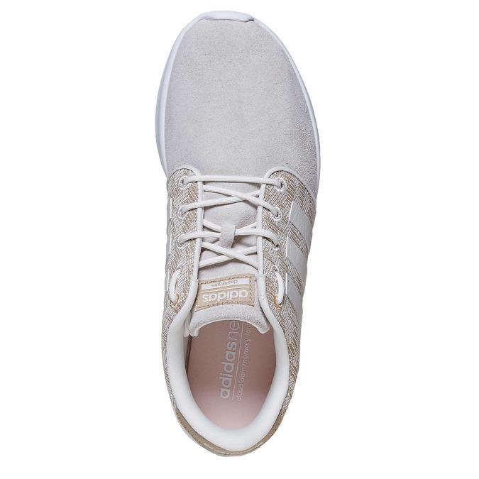 Ladies' patterned sneakers adidas, beige , 503-3111 - 19