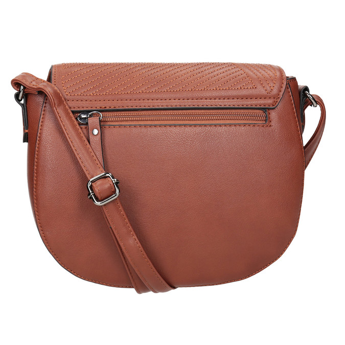 Ladies' Handbag with Stitching gabor-bags, brown , 961-3055 - 16