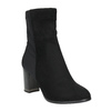 Ankle boots with heels bata, black , 699-6636 - 13