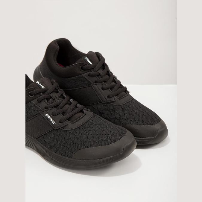 Ladies' Black Sneakers power, black , 509-6203 - 18
