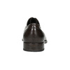 Brown leather Derby shoes bata, brown , 824-4618 - 17