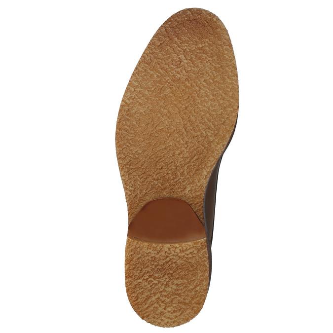 Men's leather Chukka Boots bata, brown , 826-2919 - 17