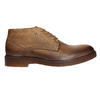 Men's leather Chukka Boots bata, brown , 826-2919 - 26