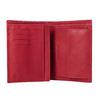 Ladies' leather wallet bata, red , 944-5179 - 15