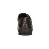 Casual leather shoes bata, brown , 824-4925 - 17