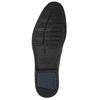 Men's leather ankle boots bata, black , 824-6913 - 19
