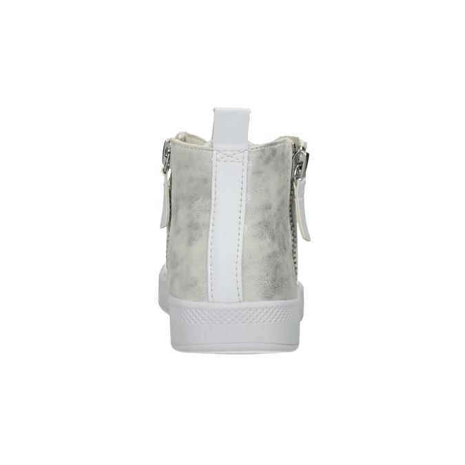 White High-Top Sneakers, white , 501-1172 - 16
