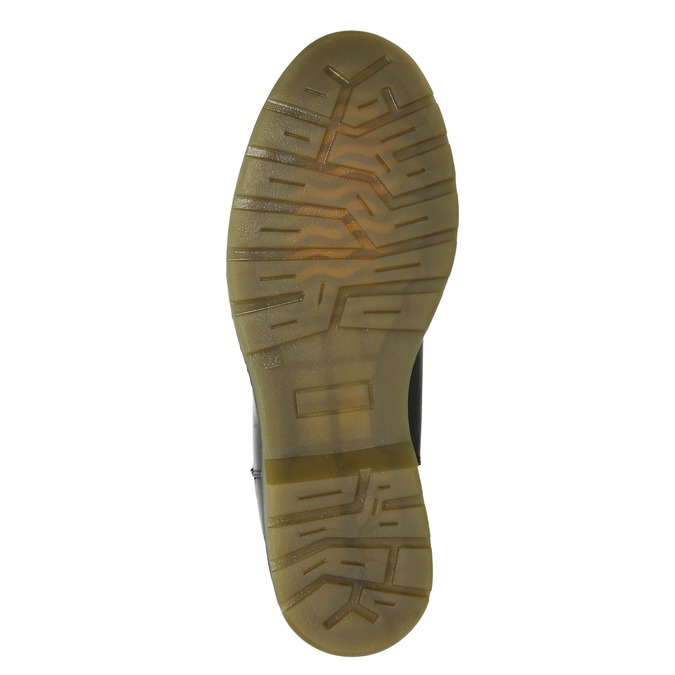 Ladies' leather Chelsea boots bata, black , 594-6680 - 17