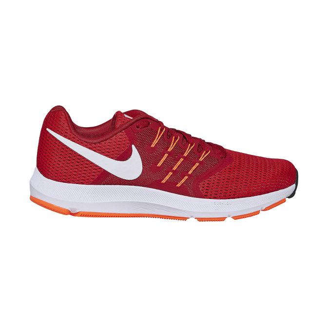Men's red sneakers nike, red , 809-5120 - 15