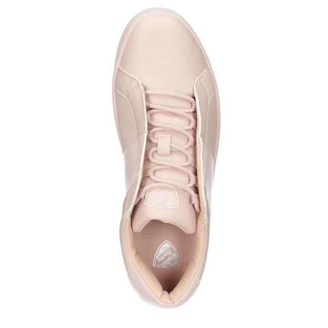 Ladies' Pink Sneakers, red , 501-5171 - 15