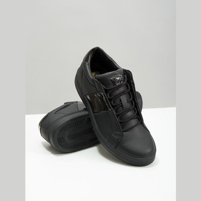 Ladies' Black Sneakers atletico, black , 501-6171 - 18