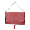 Red Envelope Handbag with Chain bata, red , 961-5164 - 26