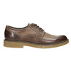 Brown Leather Shoes bata, brown , 826-4620 - 15