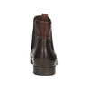 Ladies' leather brogue Chelsea boots bata, brown , 596-4683 - 16