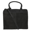 Leather Handbag with Ombré Effect fredsbruder, black , 966-6056 - 16