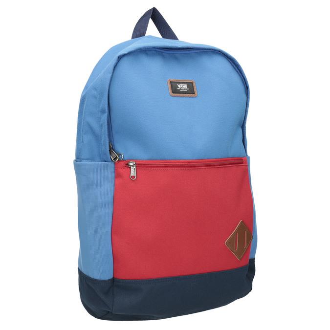 Blue Backpack with Red Pocket vans, blue , 969-9095 - 13
