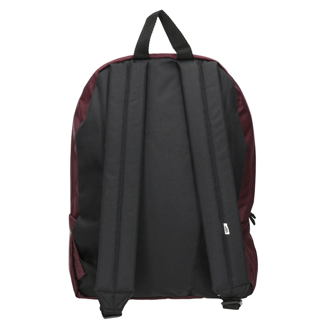 Burgundy Backpack with Patch vans, red , 969-5092 - 16