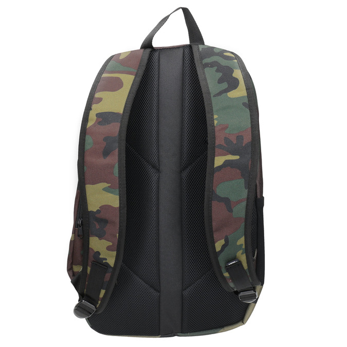 Unisex Backpack with Camouflage Print vans, brown , 969-3099 - 16