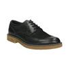 Men's Leather Derby Shoes bata, black , 826-6620 - 13