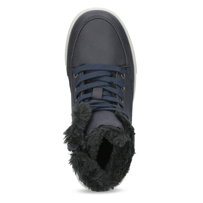Children's Insulated Winter Boots mini-b, blue , 491-9652 - 17