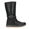 Girls' High Boots with a Sturdy Sole mini-b, black , 391-6657 - 26