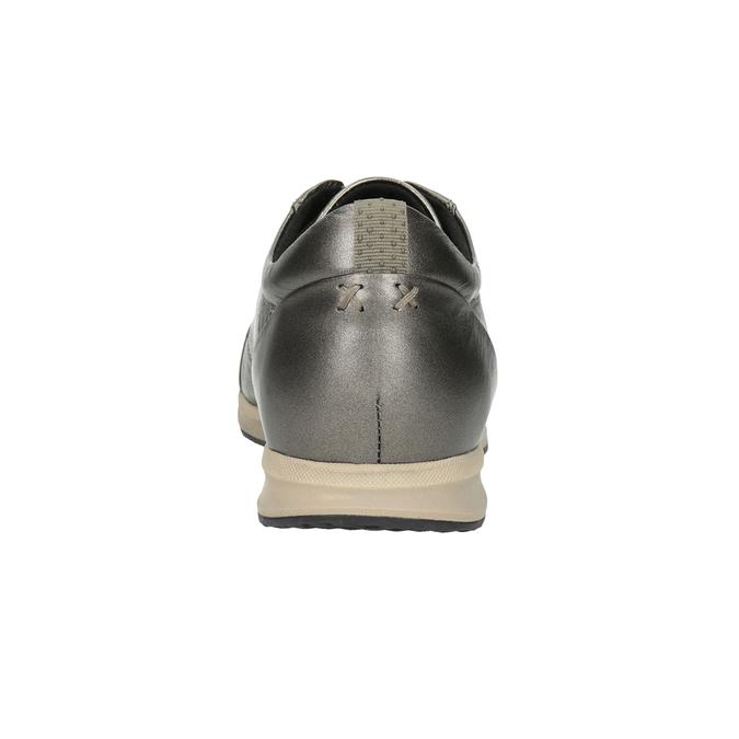Ladies' Leather Sneakers geox, brown , 526-8090 - 16