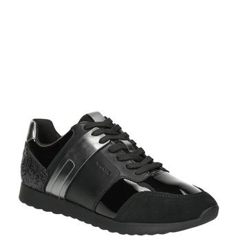 Black Ladies' Sneakers geox, black , 621-6045 - 13