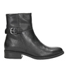 Ladies' Leather High Boots with Buckle vagabond, black , 614-6028 - 26