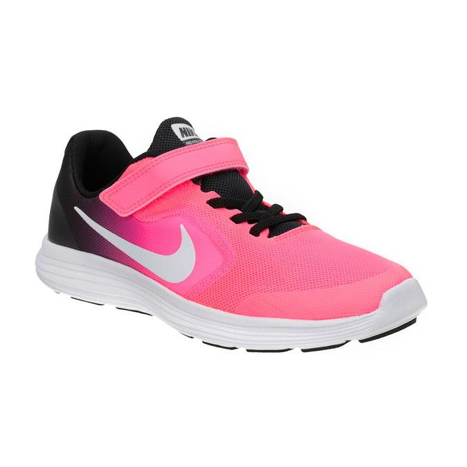 Pink Girls' Sneakers nike, red , 309-5132 - 13