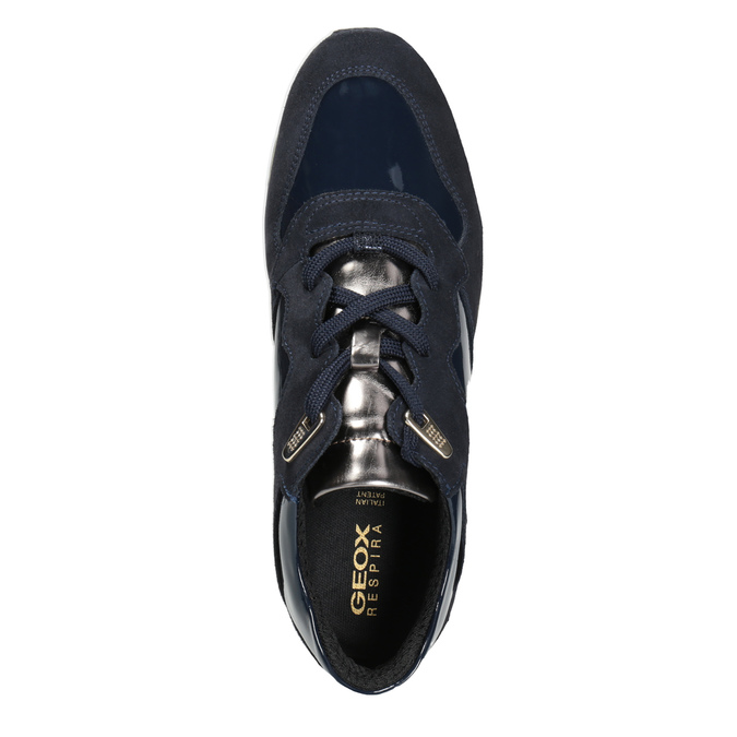 Blue Ladies' Sneakers geox, blue , 623-9042 - 15