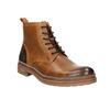 Men's Winter Ankle Boots bata, brown , 896-3685 - 13