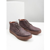Men's leather ankle boots bata, brown , 846-4652 - 18
