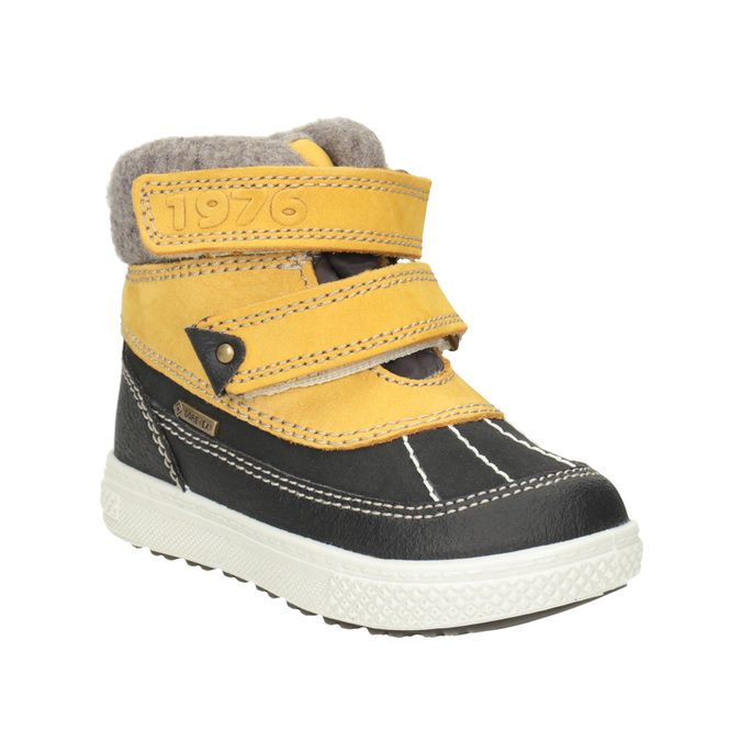 Children's Leather Winter Boots primigi, yellow , 196-8006 - 13