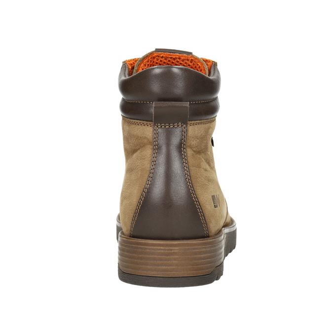 Men's Leather Winter Boots weinbrenner, brown , 896-3700 - 17