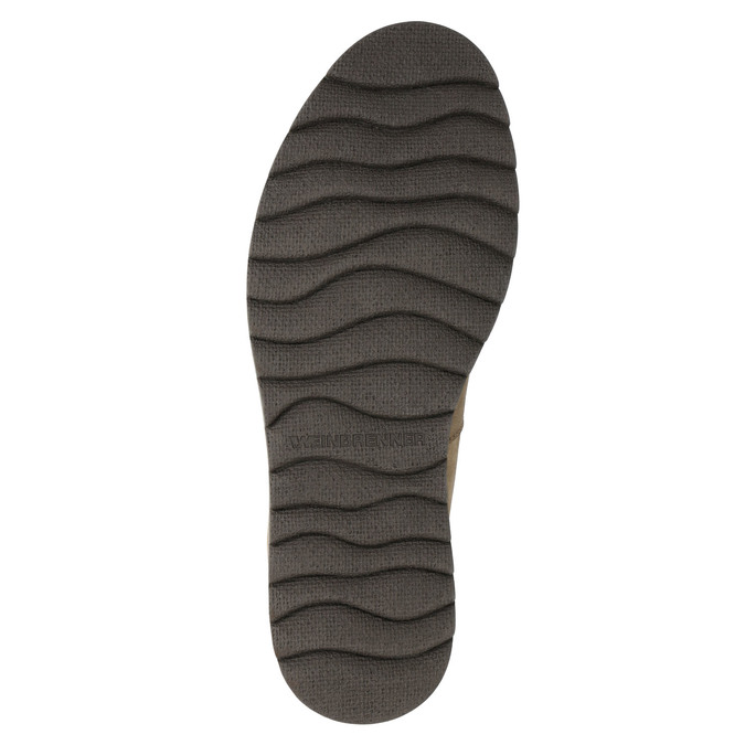 Men's Leather Winter Boots weinbrenner, brown , 896-3700 - 19