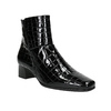 Ladies' Patent Leather High Boots gabor, black , 618-6002 - 13