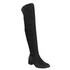 Ladies' leather high boots bata, black , 693-6604 - 13