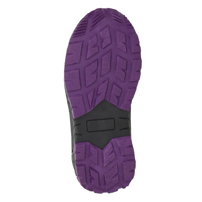 Girls' Purple Snow Boots mini-b, violet , 291-9625 - 19